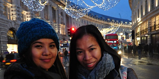 Christmas Lights London photo tour with a personal photographer