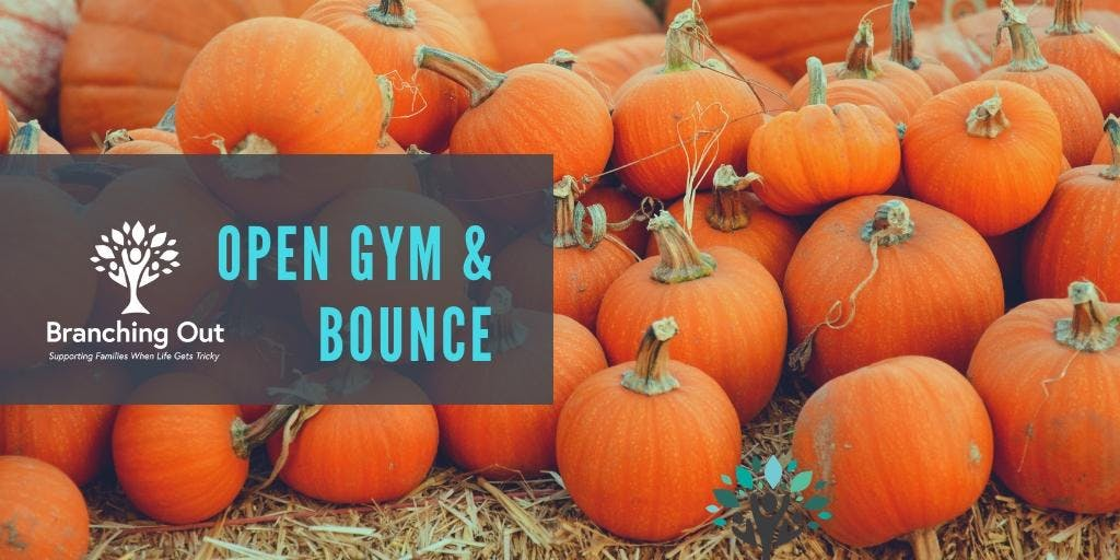 FALL-Open Gym and Bounce and Thankful Craft