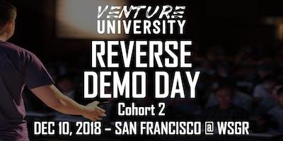 Venture University - REVERSE DEMO DAY - Cohort 2 - San Francisco