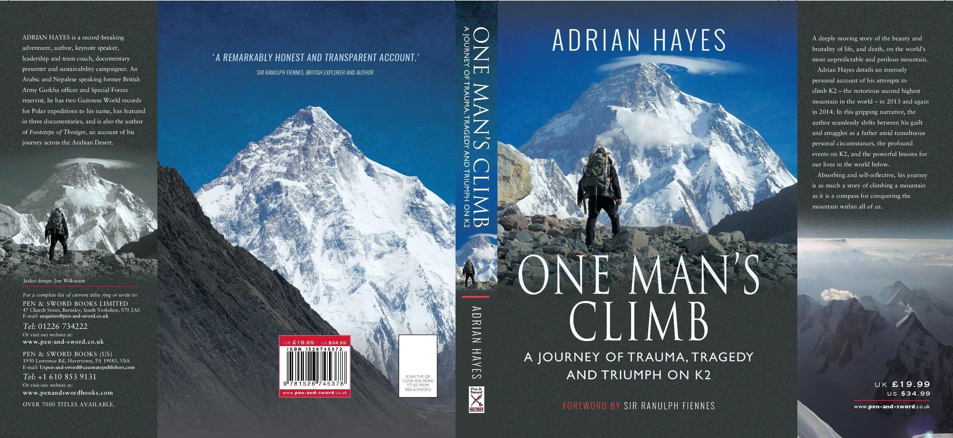 'One Man's Climb' Book Launch and Presentatio