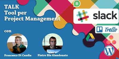 """Talk: """"Tool per Project Management"""""""
