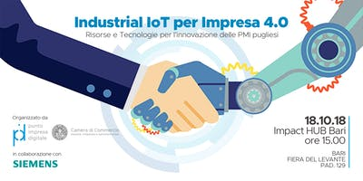 Internet of Things per Impresa 4.0
