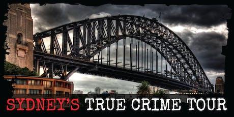 Sydney's True Crime Tour billets