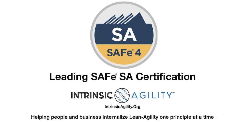 Leading Safe 45 Safe Agilist Sa Certification Washington Dc