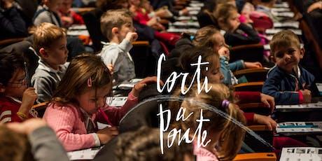 Corti a Ponte 2020 (3-7 anni): Mattinata di cinema ed intercultura, Ponte San Nicolò biglietti