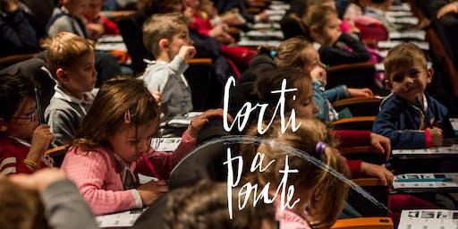 Corti a Ponte 2020 (3-7 anni): Mattinata di cinema ed intercultura, Ponte San Nicolò
