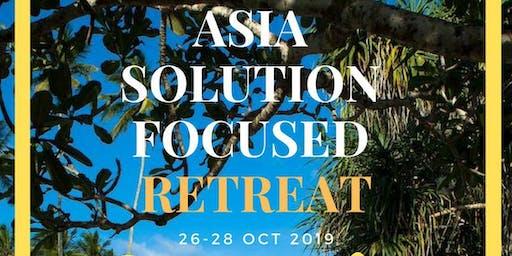 Asia Solution Focused Retreat 2019