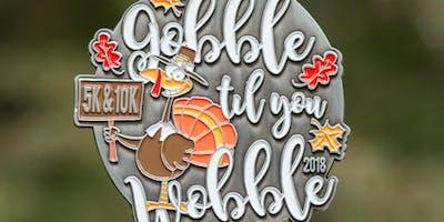 Gobble Til You Wobble 5K & 10K - Baton Rouge