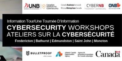 2018 Cybersecurity Workshops - SAINT JOHN / Ateliers sur la cybersécurité 2018 - SAINT JOHN
