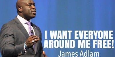 Motivational Speaker James Adlam Discusses Options in the