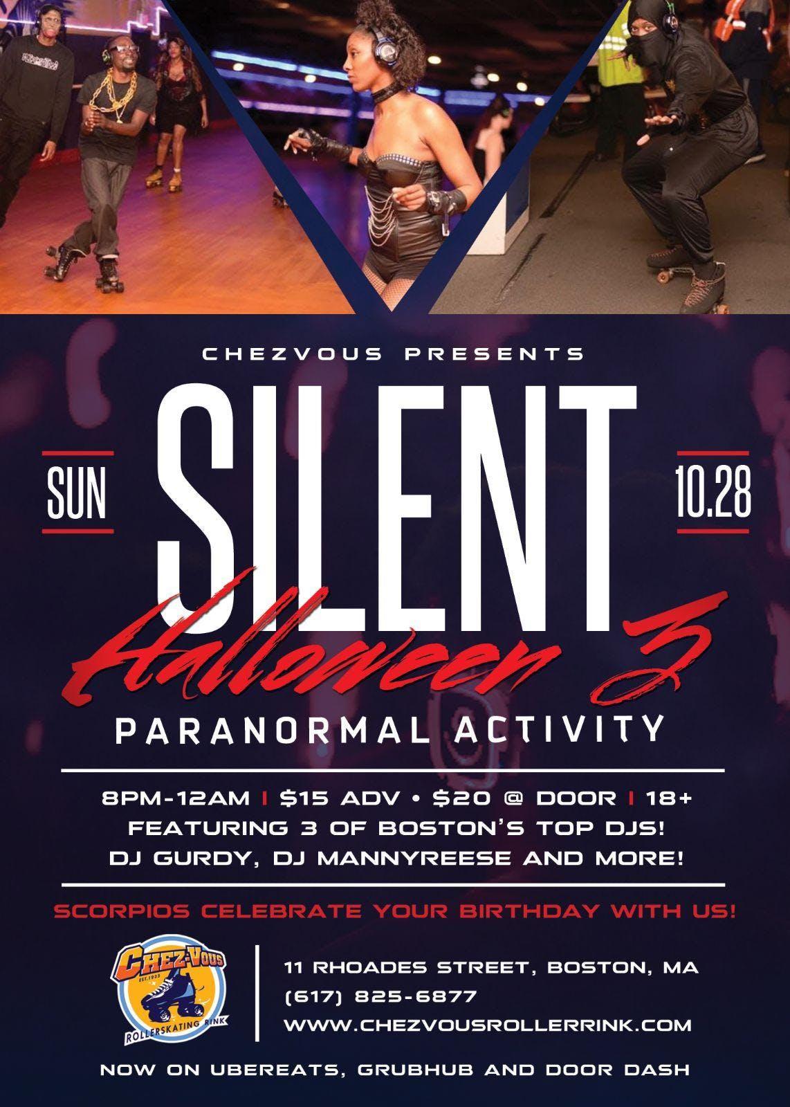 silent halloween 3 paranormal activity