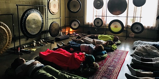 Tuesday Affordable Healing for Everyone, Sacred Wave Gong Immersions