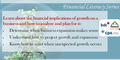 Growth and Expansion Workshop: Financial Literacy Series