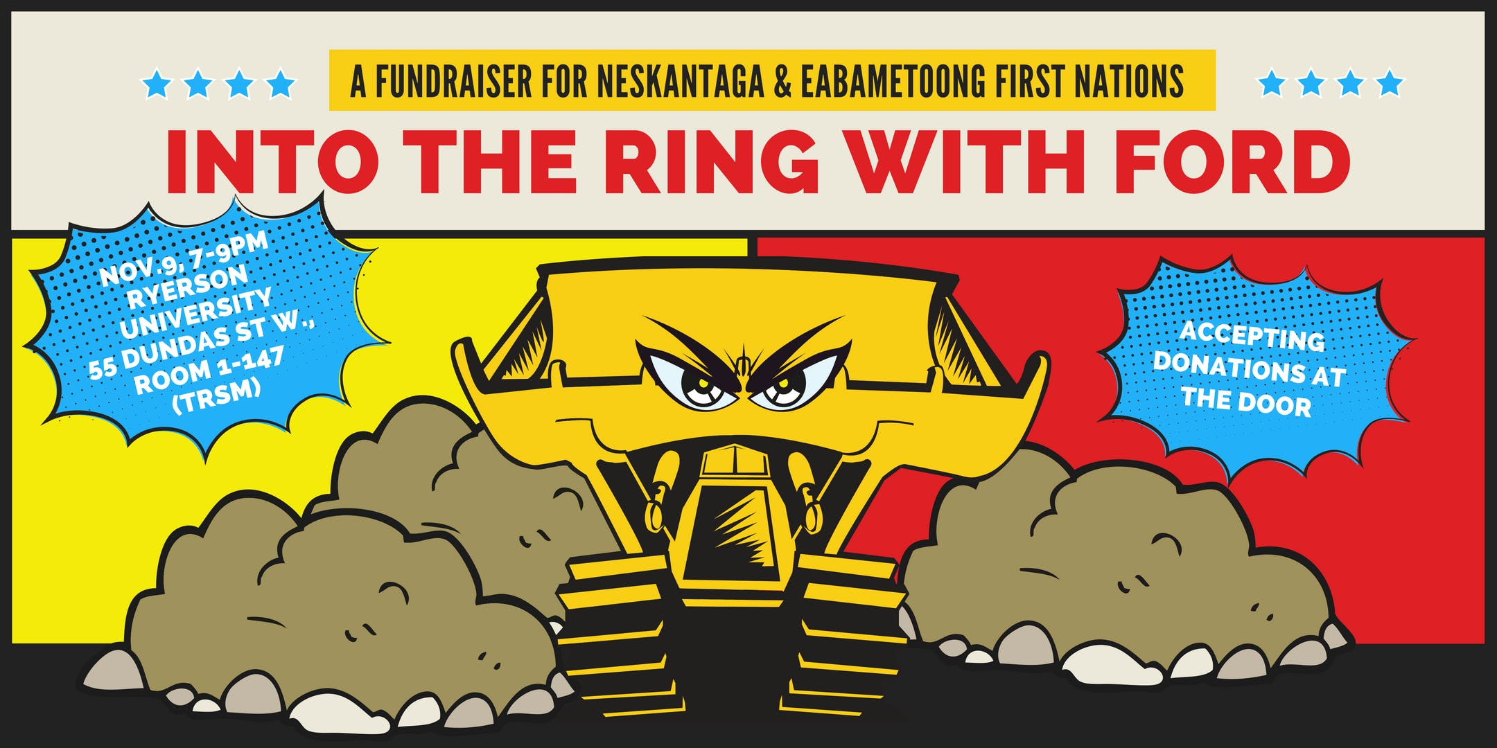 Into the Ring with Ford: A Fundraiser for the