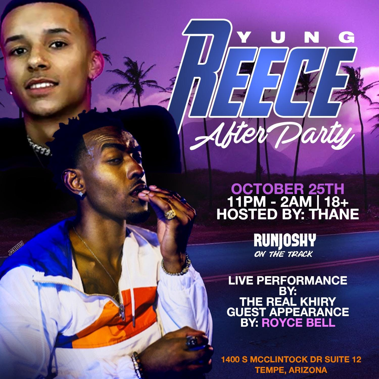 Yung Reece Official After Party