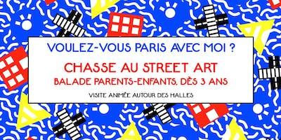 CHASSE AU STREET ART - Visite guidée Parents-Enfa