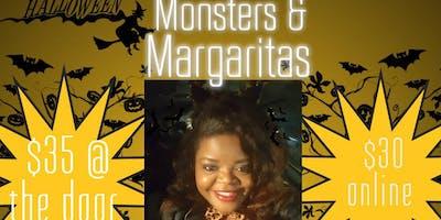 Monsters Margaritas Sip N Paint Pikesville October Saturday 27