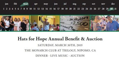 Hats for Hope Annual Benefit & Auction