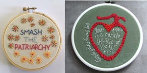 Hands on Artivism: Embroidery With A Message