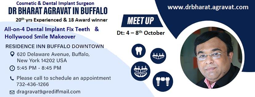 Talk on All on 4 Dental Implants fix teeth & Hollywood Smile at Buffalo NYU