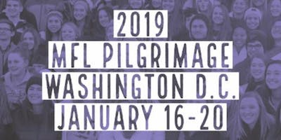 March for Life D.C. Pilgrimage ($108 Non-Refundable Deposit)