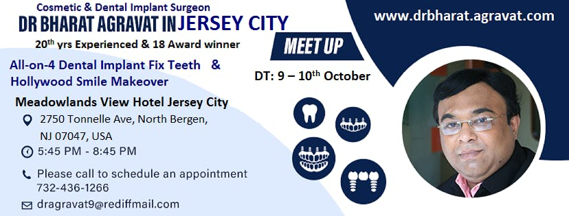 Talk on All on 4 Dental Implants fix teeth & Hollywood Smile at New Jersey