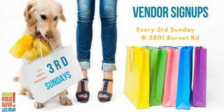 3rd Sunday Vendor Signups tickets