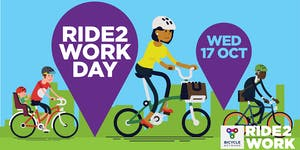 Ride to Work Day Event with FREE Breakfast and Bike...