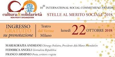 STELLE AL MERITO SOCIALE 2018