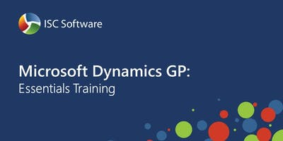 Microsoft Dynamics GP Training: Essentials