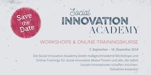 Social Impact Assessment - Social Innovation Academy