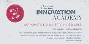 Social Impact Assessment - Social Innovation Academy