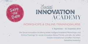 Social Business - Social Innovation Academy