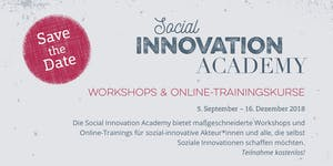 Technology for Social Innovation - Social Innovation...