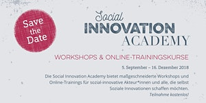 Technology for Social Innovation - Social Innovation...