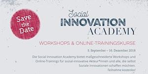 Impact Finance - Social Innovation Academy
