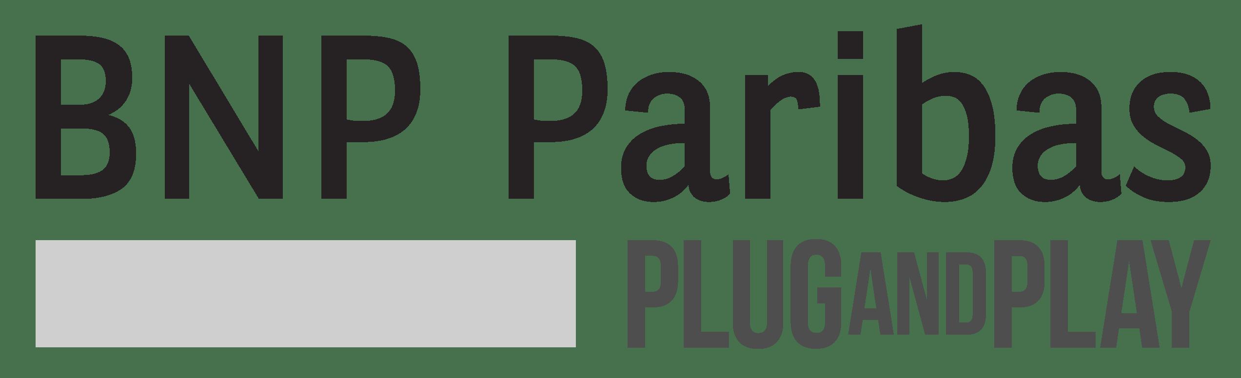logo BNP Paribas Plug & Play