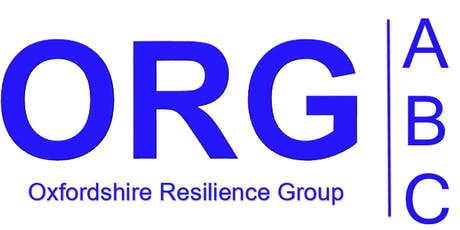 Oxfordshire Resilience Group – Communities Evening tickets