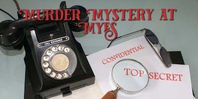 Murder Mystery at My English School