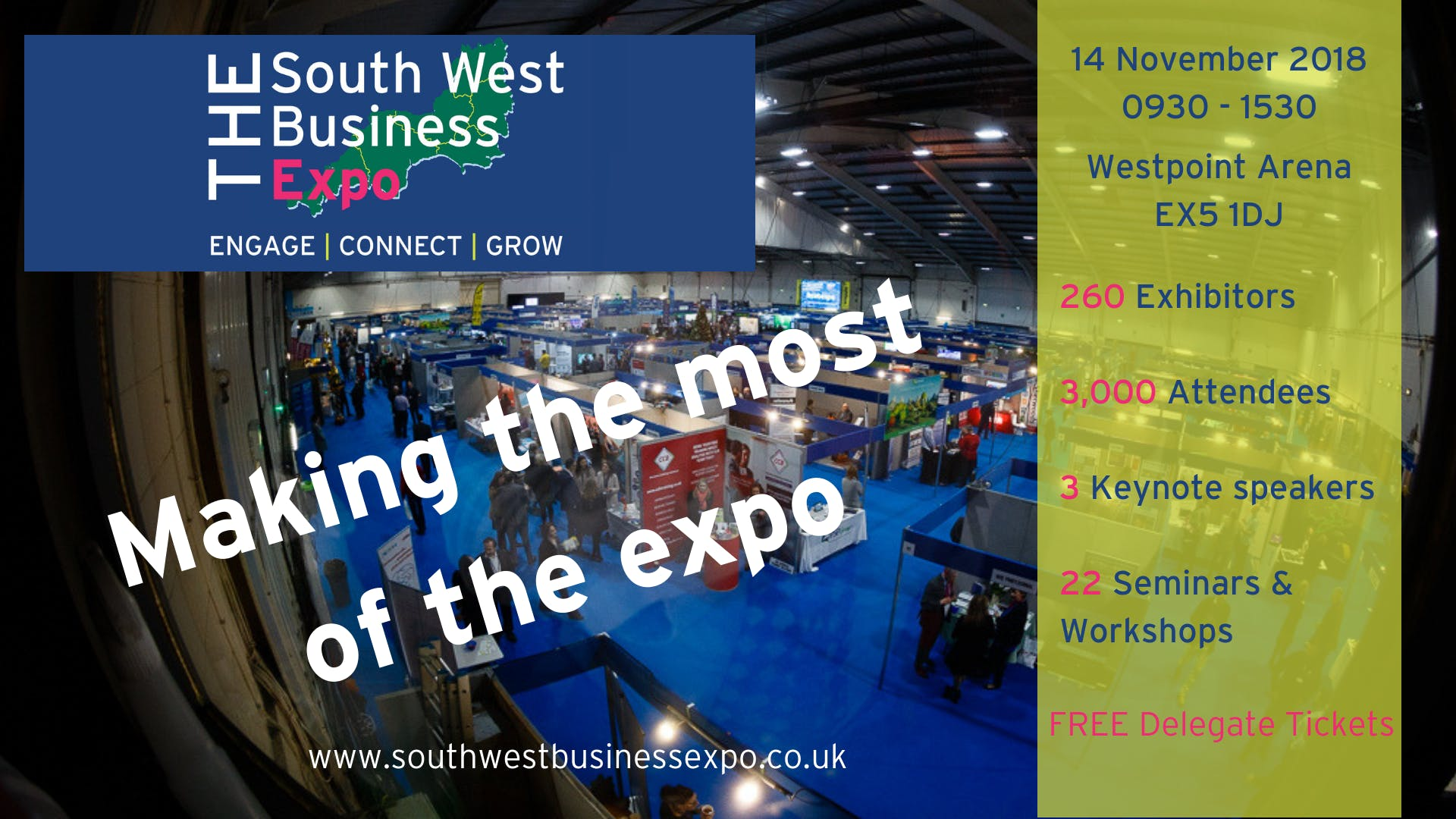 Making the most of the SWB Expo