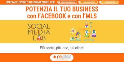SOCIAL MEDIA LAB POTENZIA IL TUO BUSINESS CON FACEBOOK E CON L' MLS
