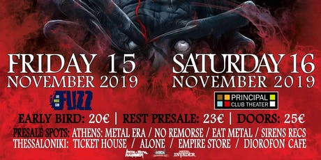 Annihilator Athens tickets