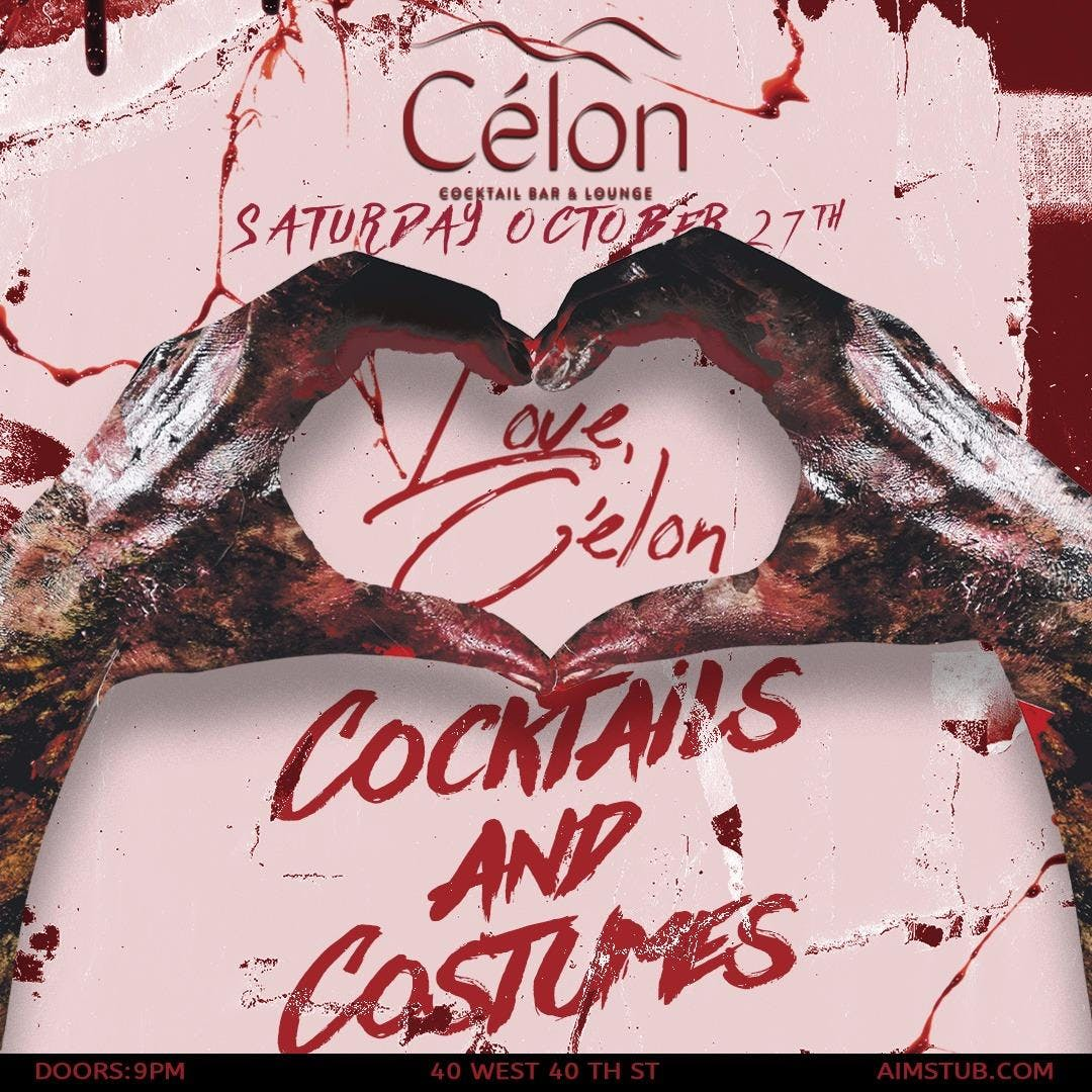 Cocktails and Costumes at Célon Halloween Wee