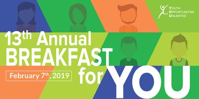 13th Annual Breakfast for YOU