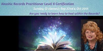 Akashic Reading Practitioner Level II Certification (1 of 2)