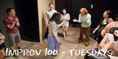 IMPROV 100 TUESDAYS-  Intro to Improv - Build Confidence Winter
