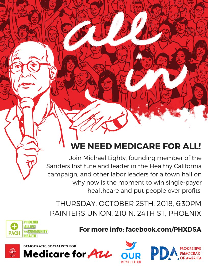 Medicare for All Town Hall w/Michael Lighty