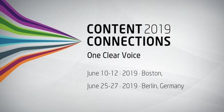 Content Connections EMEA 2019 – Berlin, Germany tickets