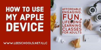 How to use APPLE devices @ Lehigh Senior High School