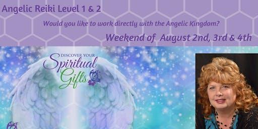 Angelic Reiki 1 & 2  (Weekend Class)